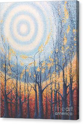 Canvas Print featuring the painting He Lights The Way In The Darkness by Holly Carmichael