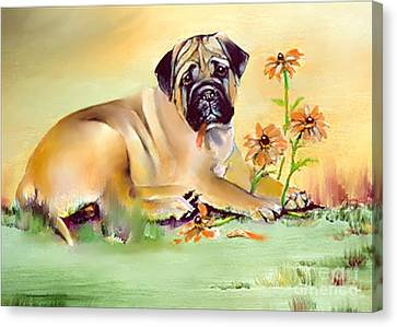 He Loves Me He Loves Me Not Canvas Print