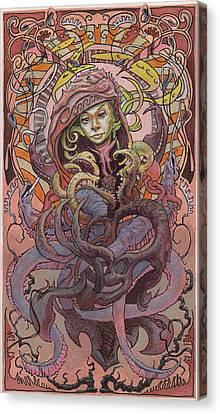 he Sandbar Princess  Canvas Print