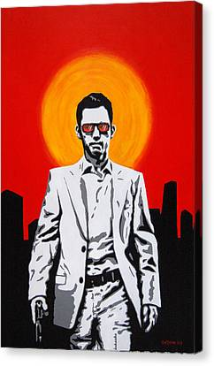 He Used To Be A Spy Canvas Print by Justin Overholt