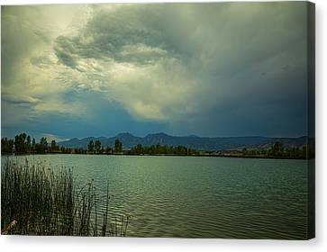 Canvas Print featuring the photograph Head In The Clouds by James BO Insogna