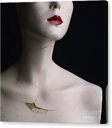 Head Of Dummy Canvas Print