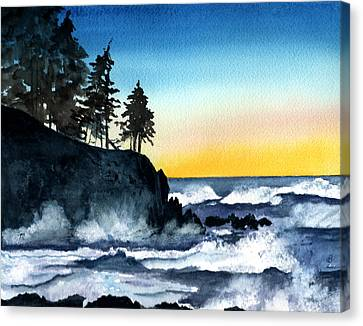 Headland Canvas Print