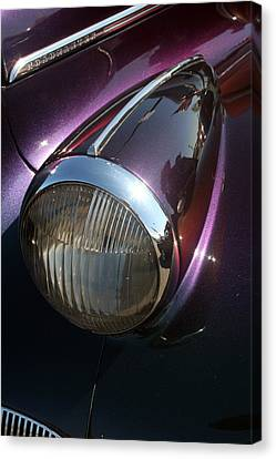Canvas Print featuring the photograph Headlight by Lynn Bawden