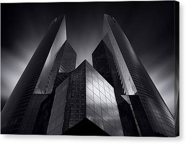 Headquarter Canvas Print by Sebastien Del Grosso