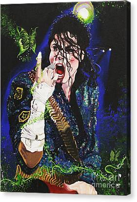 Heal The World Canvas Print by Lauren Penha