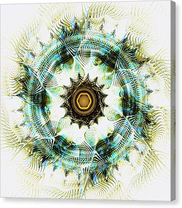 Canvas Print featuring the digital art Healing Energy by Anastasiya Malakhova