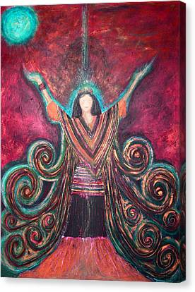 Healing Energy Canvas Print by NARI - Mother Earth Spirit