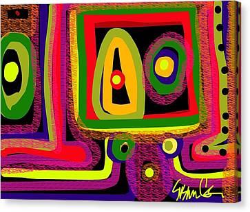 Healing Eyes Canvas Print