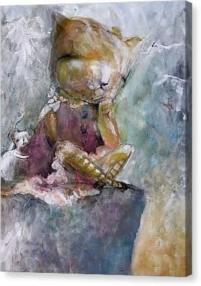 Healing Friendship Canvas Print by Eleatta Diver
