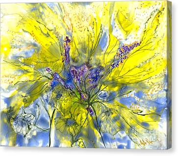 Healing Painting For Viet Canvas Print by Heather Hennick