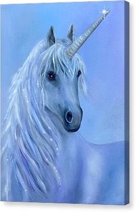 Healing Unicorn Canvas Print