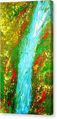 Healing Waters Canvas Print by Amy Drago