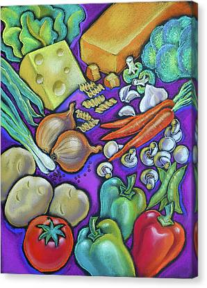 Health Food For You Canvas Print by Leon Zernitsky