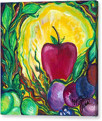 Health Canvas Print by Susan Cooke Pena