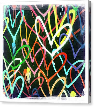 Heart 3 Canvas Print by Nina Prommer