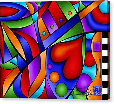 Heart And Soul Canvas Print by Debi Payne