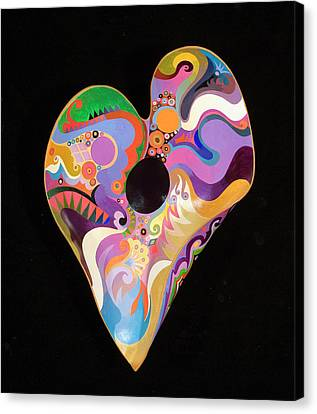 Heart Bowl Canvas Print by Bob Coonts