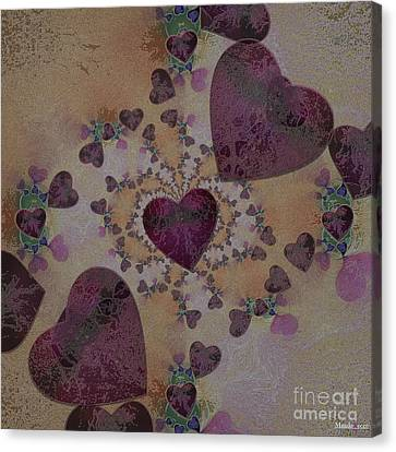 Heart Mix Canvas Print