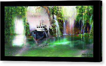 Heart Of Darkness Canvas Print by Michael Cleere