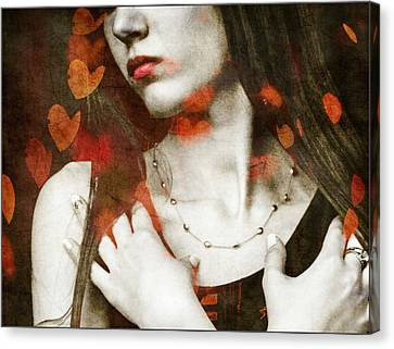 Heart Of Gold Canvas Print by Paul Lovering