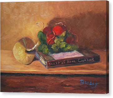 Heart Of Home Canvas Print by Teresa Lynn Johnson