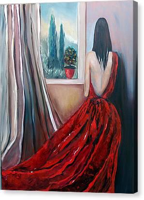 Heart Of Mine Canvas Print by Niki Sands