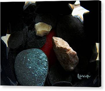 Heart Of Stone Canvas Print by RC DeWinter
