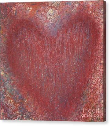 Heart Of The Matter Canvas Print