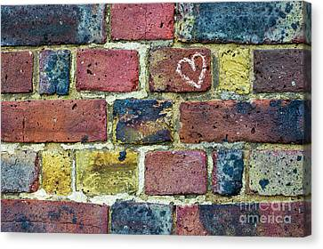 Heart Of The Matter Canvas Print by Tim Gainey