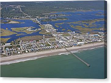 Heart Of Topsail Canvas Print