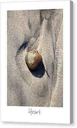 Heart Canvas Print by Peter Tellone