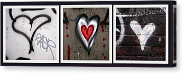 heART Canvas Print by Russell Styles