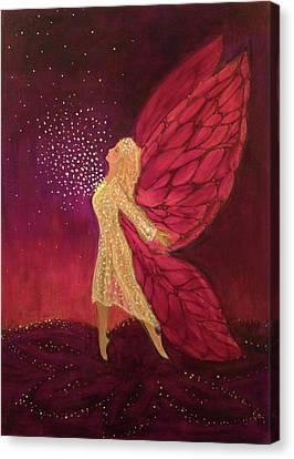 Heart Wings II Canvas Print