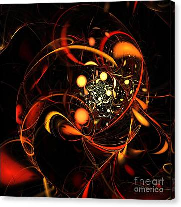 Heartbeat Canvas Print by Oni H