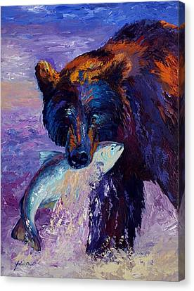 Denali Canvas Print - Heartbeats Of The Wild by Marion Rose
