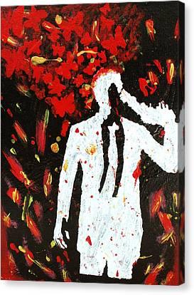 Heartbreak  Canvas Print by April Harker