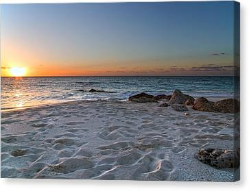 Heartbreak Sunset Canvas Print by Betsy Knapp