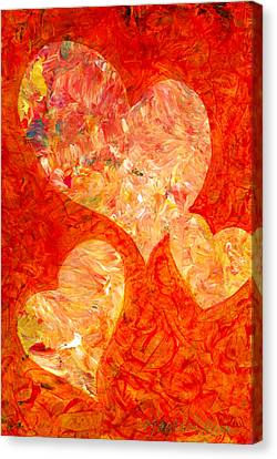Heartfelt 2 Canvas Print by Marion Rose