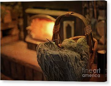 Hearth And Home Canvas Print by Nicki McManus
