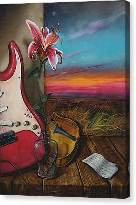 Hearth Canvas Print by Martin Katon