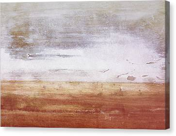 Warm Canvas Print - Heartland- Art By Linda Woods by Linda Woods