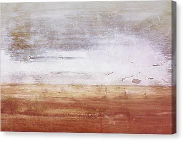 Heartland- Art By Linda Woods Canvas Print by Linda Woods