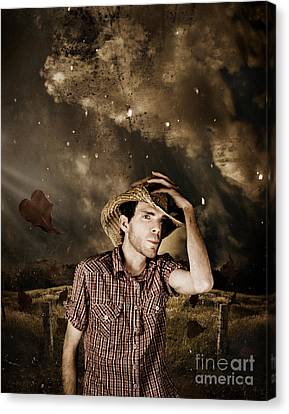 Heartland Of Outback Country Australia Canvas Print by Jorgo Photography - Wall Art Gallery
