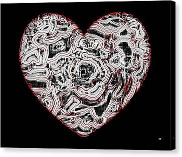 Heartline 1 Canvas Print