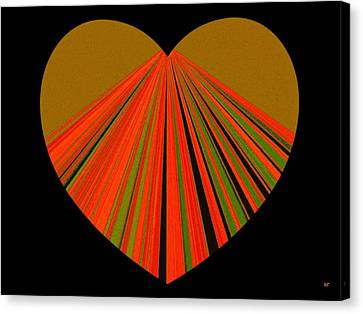 Heartline 5 Canvas Print