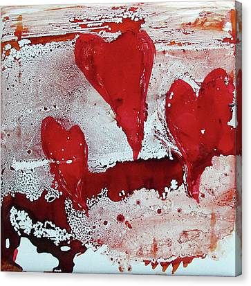 Canvas Print - Hearts Afire by Liberty Dickinson