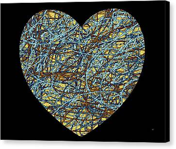 Heartstrings Canvas Print by Will Borden