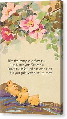 Hearty Wish Canvas Print by David and Lynn Keller