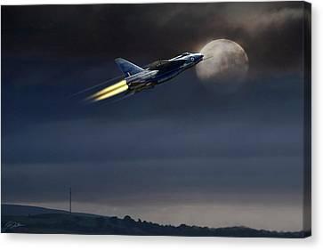 Heat Of The Night Canvas Print